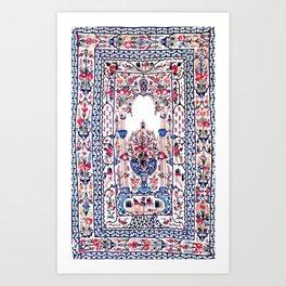 Banya Luka Bosnian Wall Hanging Print Art Print