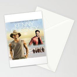 New Kenny Chesney tour 18 Stationery Cards
