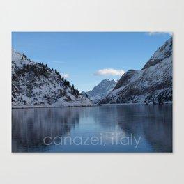 canazei, italy Canvas Print