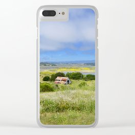 Clearing Sky Clear iPhone Case