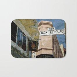 Jack Kerouac Alley and Vesuvio Pub Bath Mat