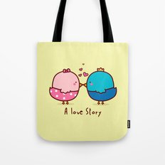 A Love Story Tote Bag