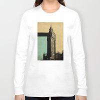 ben giles Long Sleeve T-shirts featuring Big Ben by sinonelineman