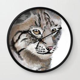 Lynx Cat Wall Clock