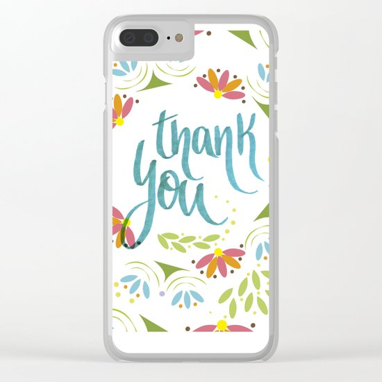 Thank you! Clear iPhone Case