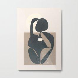 Abstract Figures 01 Metal Print