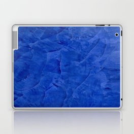Dark Classic Blue Ombre Burnished Stucco - Faux Finishes - Venetian Plaster - Corbin Henry Laptop & iPad Skin