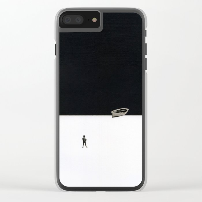 Ashore Clear iPhone Case