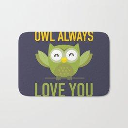 Owl Loves You Always Bath Mat