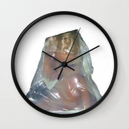 i bambini nascono con gli occhi aperti Wall Clock