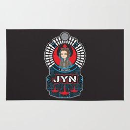 Jyn the rebel Rug