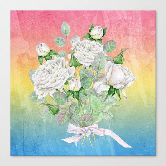 Flowers bouquet #25 Canvas Print