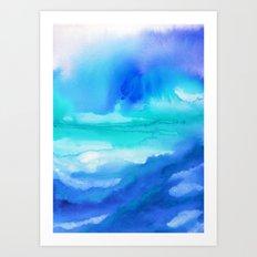 Rise II Art Print