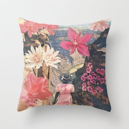 Desert Blooms Throw Pillow