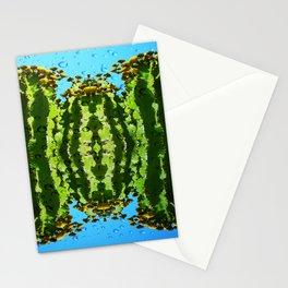 Raindrop Cacti Reflections Stationery Cards