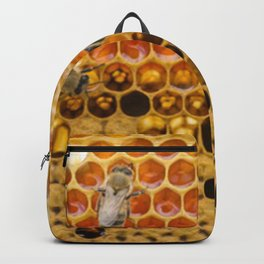 Top view honeycomb Backpack