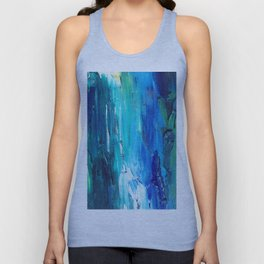 Sky Reflections Unisex Tank Top