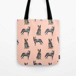 Australian Cattle Dog blue heeler dog breed gifts for cattle dog owners Tote Bag