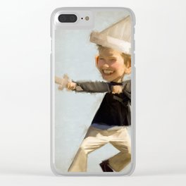 Kid Clear iPhone Case