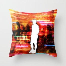 Dissociation Throw Pillow
