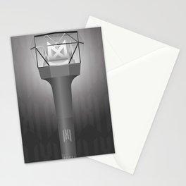 KPOP, Monsta X Lightstick Version 2, Mondoongie, Monbebe Fandom Stationery Cards
