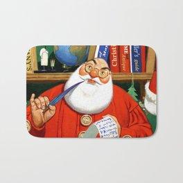 The Night Before Christmas - Santa's List Bath Mat