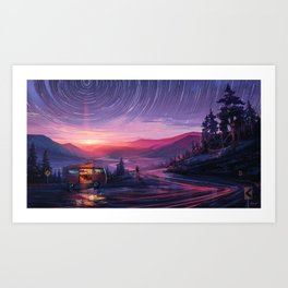 Out of Time Art Print