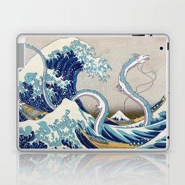 Haku and the Great Wave Laptop & iPad Skin