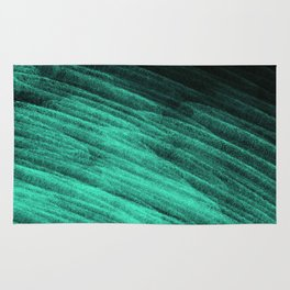 Aqua Step Waves Rug