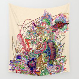 Eruption Wall Tapestry