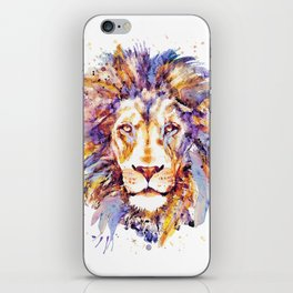 Lion Head iPhone Skin