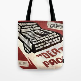 Deathproof redux Tote Bag