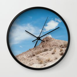 Rhyolite, NV Desert Wall Clock