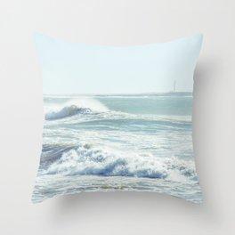 Western Sahara Throw Pillow