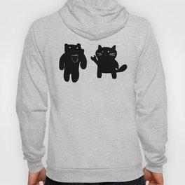 Bear and Cat Hoody