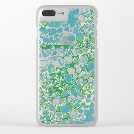 Vibrant Sponges 3.0 Clear iPhone Case
