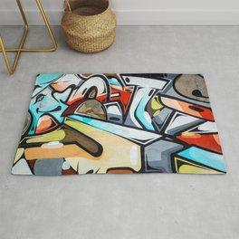 Wall Graffiti Rug