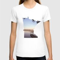 minnesota T-shirts featuring Lake Minnesota by Keaton