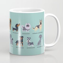 GERMAN DOGS Coffee Mug