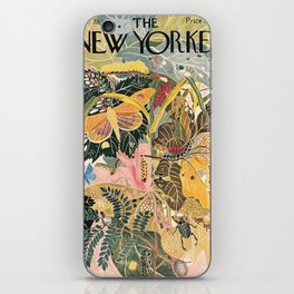 The New Yorker Vintage Cover // 1 iPhone Skin