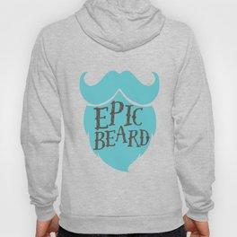 Epic Beard baby blue Hoody