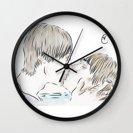 21:21 kiss Wall Clock