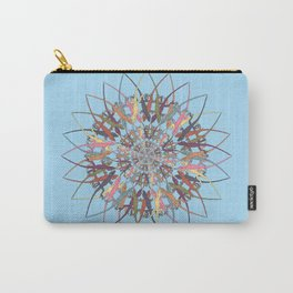 Lizard Snowflake Carry-All Pouch
