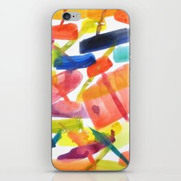 Abstract Brushstrokes iPhone Skin