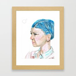 UNSCARRED Framed Art Print