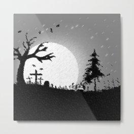 Nightmare Scenery Metal Print