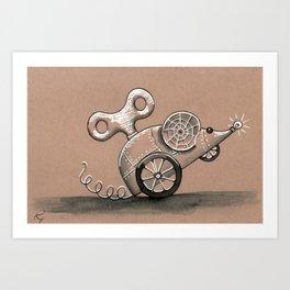 squeak Art Print
