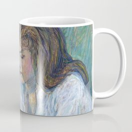 "Henri de Toulouse-Lautrec ""The Reader (La Liseuse)"" Coffee Mug"