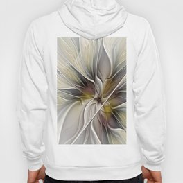 Floral Abstract, Fractal Art Hoody