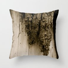 Revealing my soft side Throw Pillow